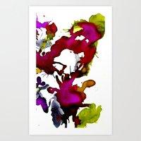 Inks Art Print