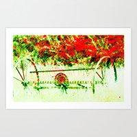 Tedder Hit The Hay Art Print