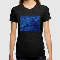 Pride Rock Womens Fitted Tee Tri-Black SMALL