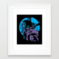 Lament Of The Vampyre Framed Art Print