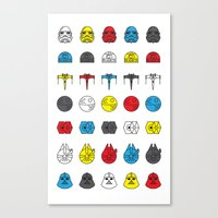 Balance in the Force Canvas Print
