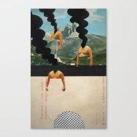 The Noon Guns (Back) Canvas Print