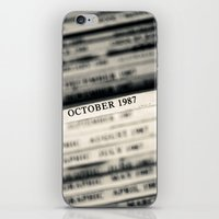 October 1987  iPhone & iPod Skin