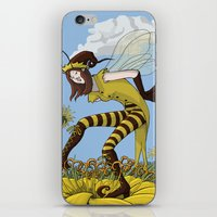 Pollen Dance iPhone & iPod Skin
