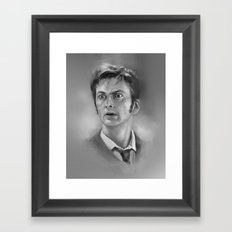 10th  Doctor Framed Art Print