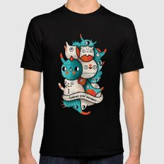 Embrace your weirdness SMALL Black Mens Fitted Tee
