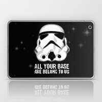 All Your Base Are Belong… Laptop & iPad Skin