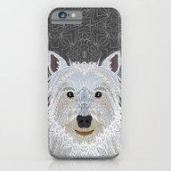 Westie iPhone 6 Slim Case