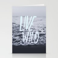 Live Wild: Ocean Stationery Cards