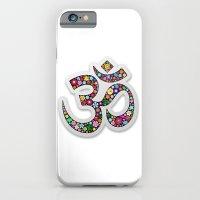 Om Aum Namaste Yoga Symb… iPhone 6 Slim Case