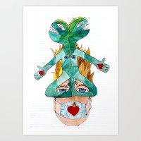 Future Denied - Futuro Negato Art Print