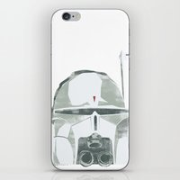 Ralph McQuarrie concept Boba Fett iPhone & iPod Skin