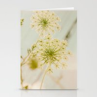 Summer Botanical Vintage Queen Anne's Lace Stationery Cards