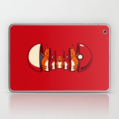 Poketryoshka - Fire Type Laptop & iPad Skin