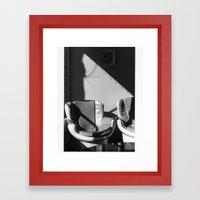 A Little To The Left Framed Art Print