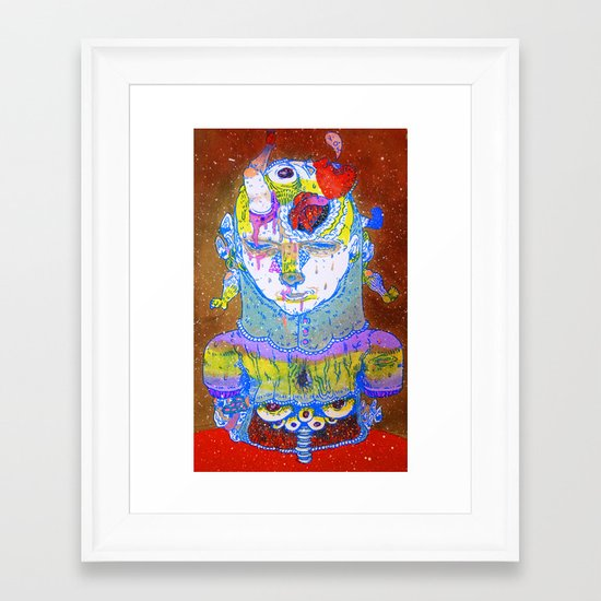 inside space Framed Art Print