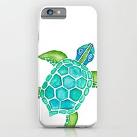 Watercolor Sea Turtle iPhone 6 Slim Case