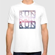 T-shirt featuring Run Forest Run by EARTh