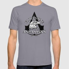 Florentine Assassins Slate Mens Fitted Tee SMALL