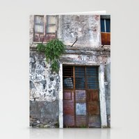 Old Sicilian Facade Of T… Stationery Cards
