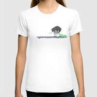 mabe Womens Fitted Tee White SMALL