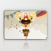 Chestnut Girl Balloon!!! Laptop & iPad Skin