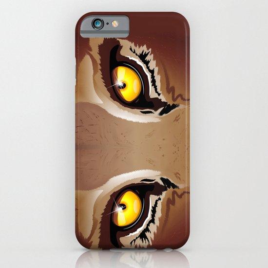 Wild Puma Eyes iPhone & iPod Case