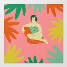 Silla Canvas Print