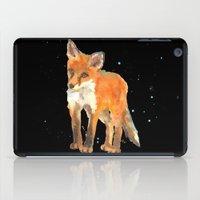 Fox Kit - First Snow iPad Case