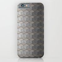 iPhone & iPod Case featuring Pattern #6 Greyscale by Matthew Klaver