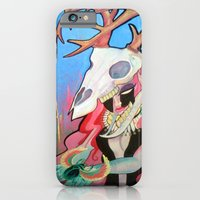 iPhone & iPod Case featuring Scarab by kate collins