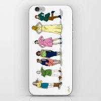 Fashion Line Up iPhone & iPod Skin