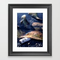 A Drowning Framed Art Print