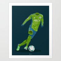Seattle Sounders 2013 Art Print