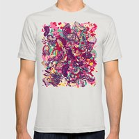 Species Mens Fitted Tee Silver SMALL