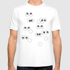 sightseeing SMALL White Mens Fitted Tee