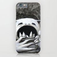 iPhone & iPod Case featuring Monster in the Woods by Starla Friend