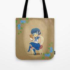 Retro Sailor Mercury Tote Bag