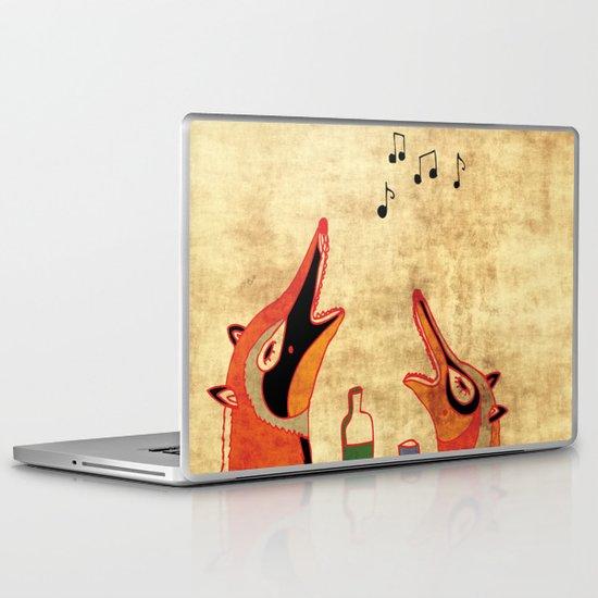 Fox fun Laptop & iPad Skin