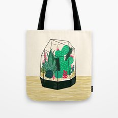 Terrarium - Geodesic Plant for Succulents and Cactus by Andrea Lauren Tote Bag