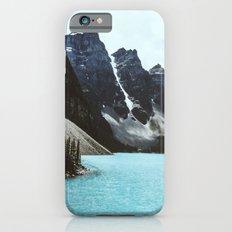 Lake Moraine landscape iPhone 6 Slim Case