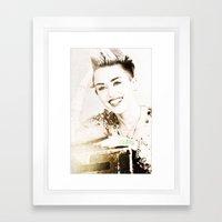 Miley Cyrus Framed Art Print