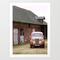 Camionette Art Print