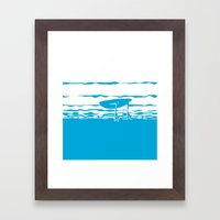 Partly Ducky Framed Art Print