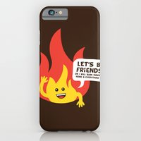 """iPhone & iPod Case featuring """"Friendly"""" Fire by Stuart Colebrook"""