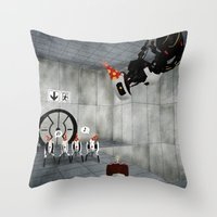 Glados' Birthday Throw Pillow
