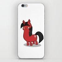 My small sized satanic duplicorn horse iPhone & iPod Skin