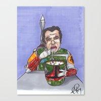 Enjoying Breakfast Befor… Canvas Print
