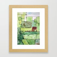 Alex's Attic Framed Art Print