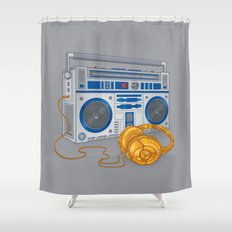 Recycled Future Shower Curtain